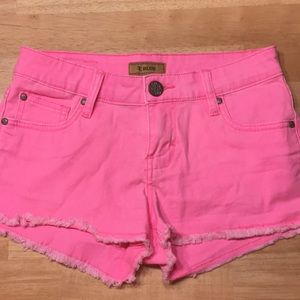 Hot pink women's shorts size 1